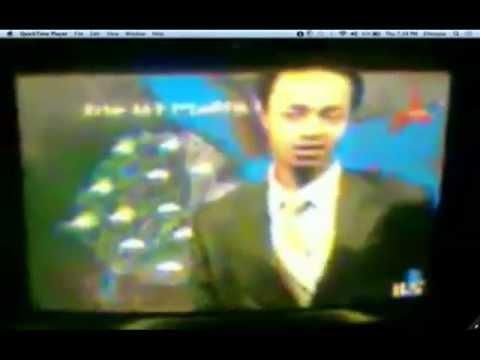 Ethiopia – ETV Meteorologist Goes Crazy On Live Show