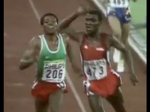 Ethiopia – [Funny] Haile Gebresellasie Punched