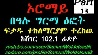 OROMAY Book Series Narration From Sheger 102 1 Radio Rec By Sami Part 13