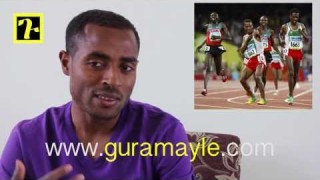 Interview with athlete Kenenisa Bekele Part 2/2