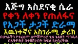 Amazing hijacking story in Addis Ababa True Story እጅግ አስደናቂ ሴራ