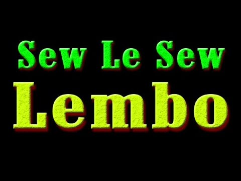 Sew Le Sew ( Lembo ) Funny interview
